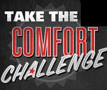 "Take the ""Comfort Can Challenge!"""